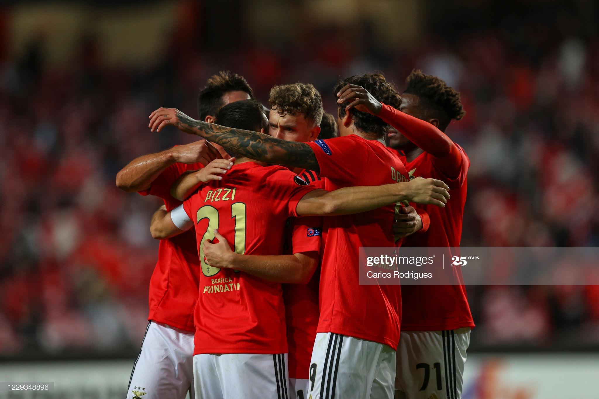 Benfica vs Rangers