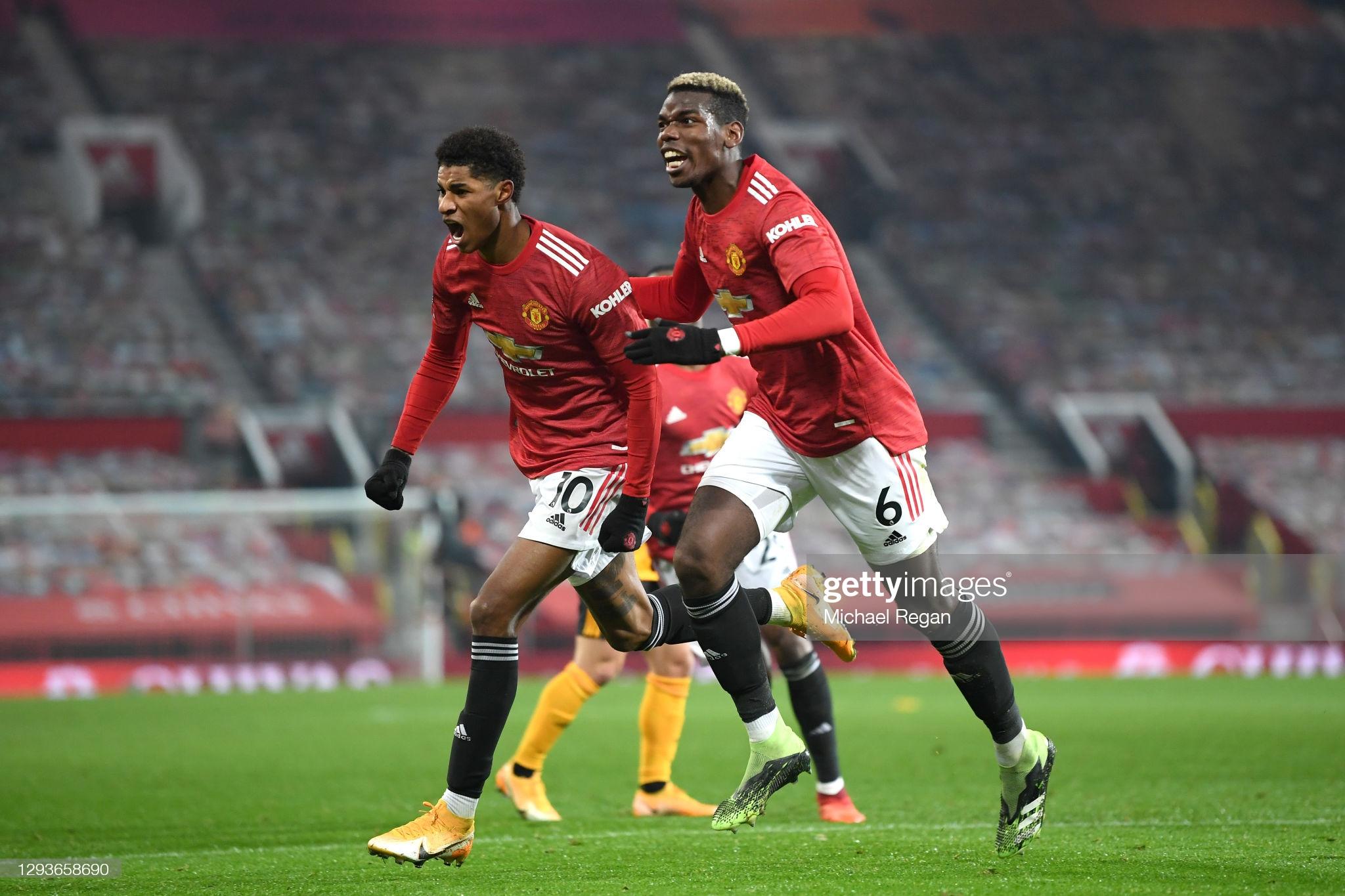 Manchester United: Marcus Rashford and Paul Pogba