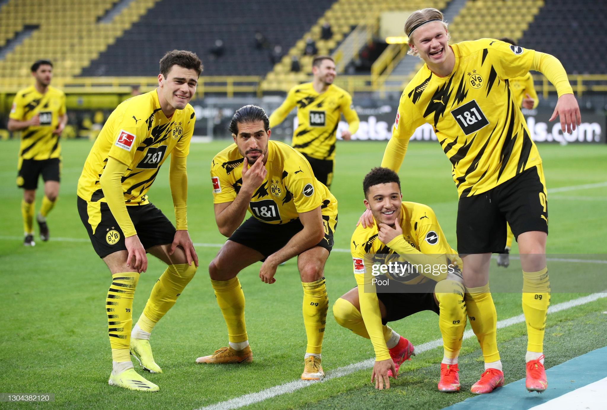 Borussia Monchengladbach vs Borussia Dortmund